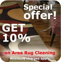 Area Rug Cleaning Special